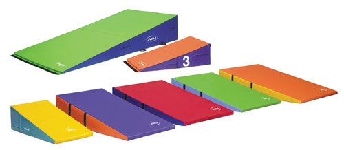 four mats asp cube mat incline p package fold floor gymnastics wedge gymnastic and